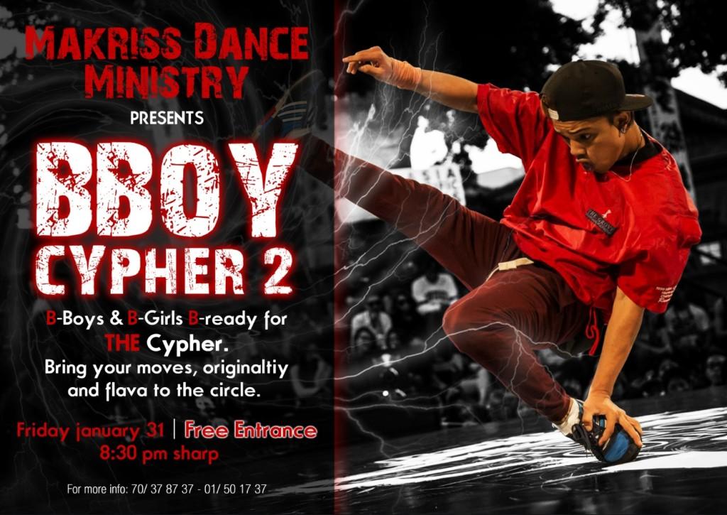 2014 - B-boy Cypher