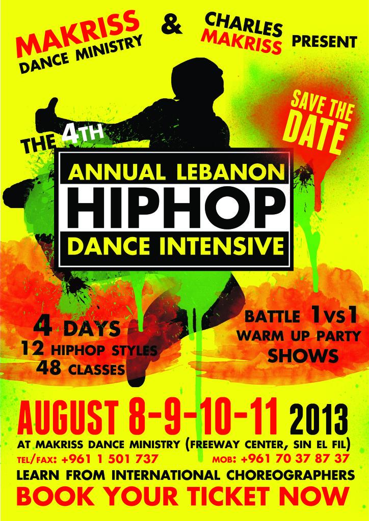 Flyer 4th Hip Hop Intensive